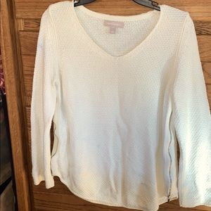 Banana Republic Side Zip Sweater
